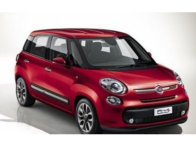菲亚特500L官图发布 将首发日内瓦车展