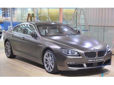全新BMW 6系西部首發亮相