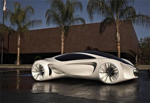 外星来客 奔驰biome概念车