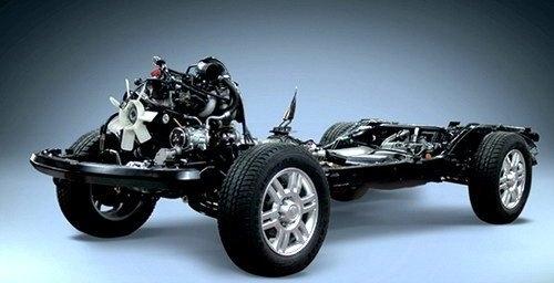 图解汽车底盘构造