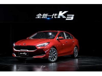 全新一代K3以最优油耗带来充沛动力