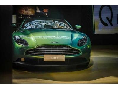 虹彩祖母绿DB11 V8 Coupe惊艳亮相