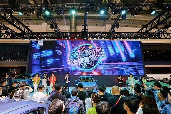 2020北京车展长城汽车展台